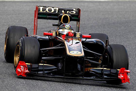 Nick Heidfeld im Lotus Renault R31