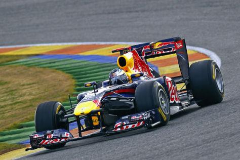 Sebastian Vettel im Red Bull RB7