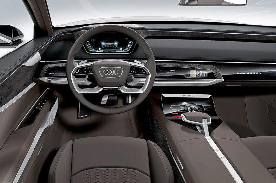 Audi A9/Prologue Avant (Genfer Autosalon 2015): Vorstellung ... | {Auto cockpit vw 45}