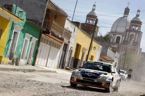 Das Städtchen Guanajuato wurde in diesem Jahr im Renntempo durchfahren