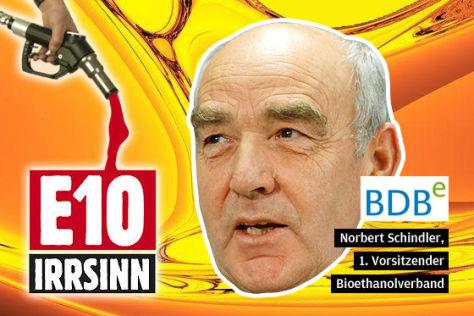 Norbert Schindler, 1. Vorsitzender Bioethanolverband