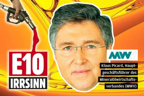 Klaus Picard, Hauptgeschäftsführer des Mineralölwirtschaftsverbandes (MWV)