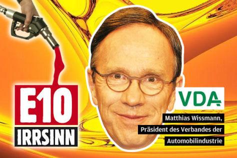 Matthias Wissmann, Präsident des Verbandes der Automobilindustrie (VDA)