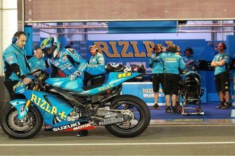 Alvaro Bautista weiß das gesamte Suzuki-Werksteam in diesem Jahr hinter sich