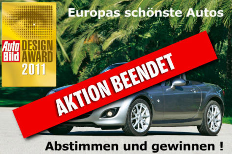 AUTO BILD Design Award 2011