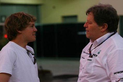Norbert Haug traut Sebastian Vettel dieses Jahr erneut eine Menge zu