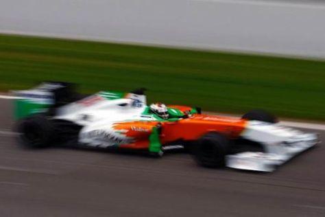 Der Schein trügt: In puncto Speed gehört der neue VJM04 noch nicht zu den Besten