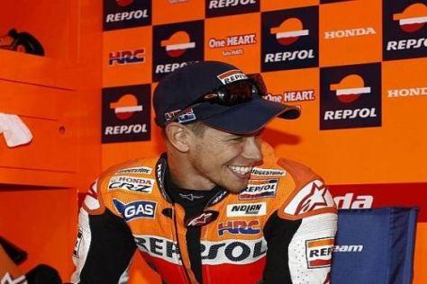 Casey Stoner blickt der MotoGP-Saison 2011 äußerst optimistisch entgegen
