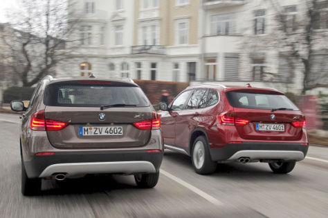 BMW X1 28i BMW X1 23d