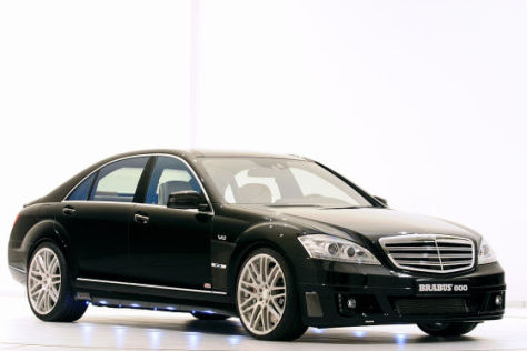 brabus ibusiness 2 0 mercedes s klasse als rasendes b ro. Black Bedroom Furniture Sets. Home Design Ideas