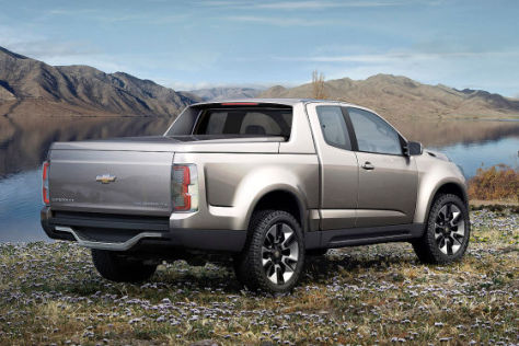 Chevrolet Colorado Pick-Up Studie