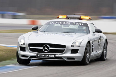 Mercedes-Benz SLS AMG Official F1 Safety Car 2011