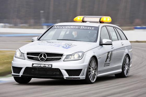 Mercedes C-Klasse AMG C 63 T-Modell Formel 1 Medical Car