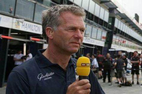 Christian Danner steht vor seiner 14. Formel-1-Saison als Kommentator