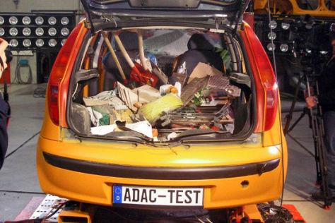ADAC Crashtest Ladungssicherung
