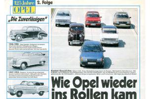 Wie kam Opel ins Rollen?