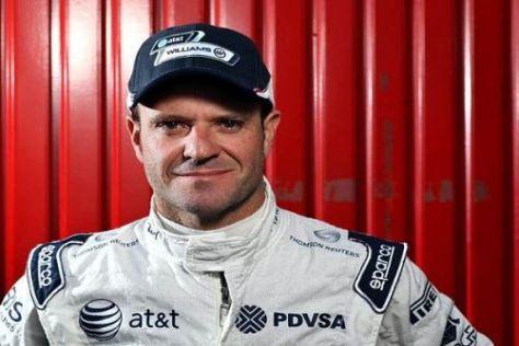 Barrichello ist auch in seiner 19. Saison die Freude an der Formel 1 anzumerken