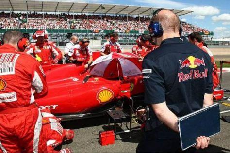 Einmal einen Ferrari bauen: Davon träumt Adrian Newey (noch?) nicht...