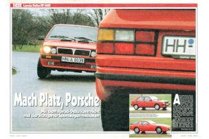 Mach Platz, Porsche