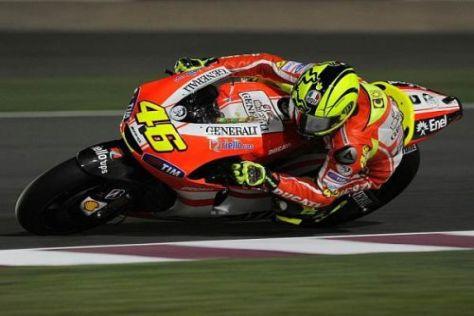 Valentino Rossi und Ducati sind derzeit (noch) nicht siegfähig