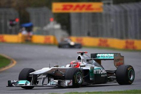 Michael Schumacher klingt deutlich zufriedener als noch vor einem Jahr