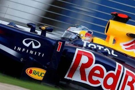 Sebastian Vettel kann mit den ersten beiden Trainings recht zufrieden sein