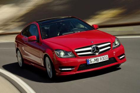 Preise Mercedes C-Klasse Coupé: Preisliste - autobild de