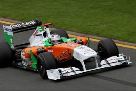 Adrian Sutil nimmt im Qualifying eine Platzierung im Mittelfeld ins Visier