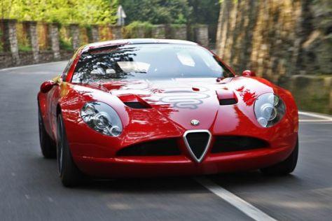 Alfa Romeo  Stradale on Zagato Alfa Romeo Tz3 Stradale Geht In Serie   Autobild De