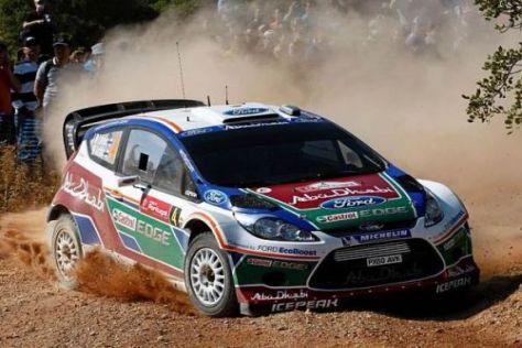 Jari-Matti Latvala beendete den ersten Tag der Rallye-Portugal an der Spitze