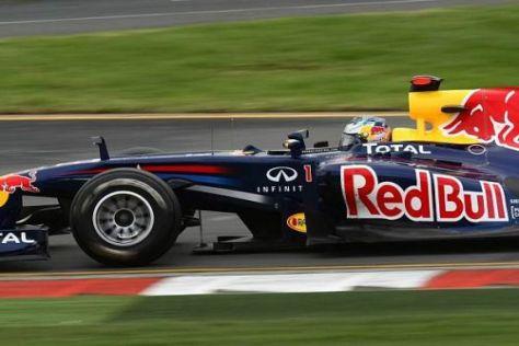 Sebastian Vettel deckte am Ende des dritten Trainings erstmals seine Karten auf