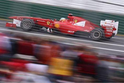 Fernando Alonso ist enttäuscht, sieht aber keinen Grund zur Panik