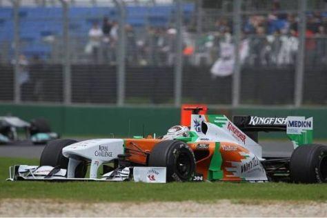 Adrian Sutil verpasste die Punkte um einen Platz