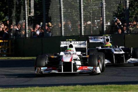 Eigentlich war Sergio Perez heute in Melbourne eine der Überraschungen