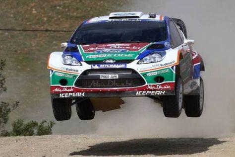 Ein Sprung, aber kein Höhenflug: Jari-Matti Latvala in Portugal