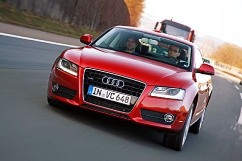 Audi A5 mit Neigetechnik