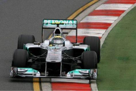 Nico Rosbergs erster Grand-Prix-Sieg scheint derzeit nicht in Griffweite zu sein