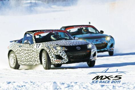 Mazda MX-5 Ice Race 2011