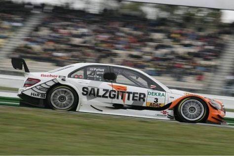 Gary Paffett fuhr bislang die Mercedes-C-Klasse mit Salzgitter-Schriftzug