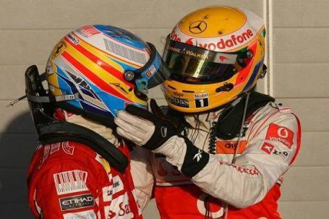 Fernando Alonso und Lewis Hamilton sehen sich immer noch als Erzrivalen