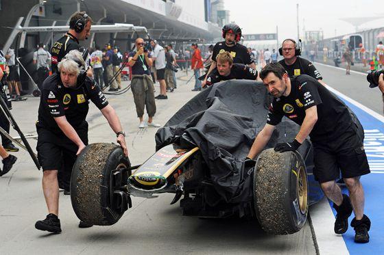 Nick Heidfeld Renault R31