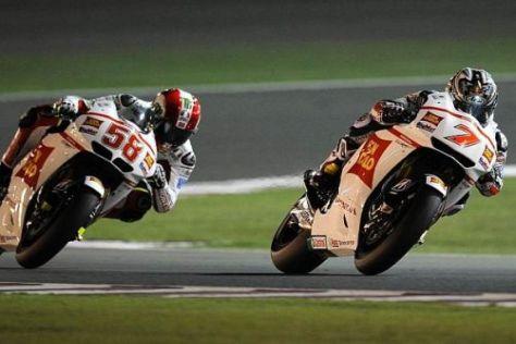 Die beiden Gresini-Honda-Piloten reisen zuversichtlich nach Jerez