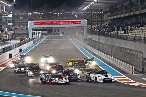 Rennstart FIA GT1 Abu Dhabi Debüt Winkelhock