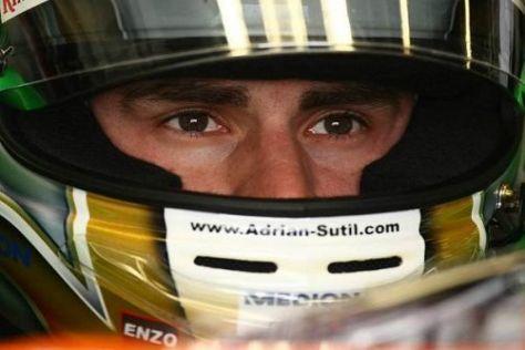 Adrian Sutil profitierte vom Wertungsausschluss der beiden Sauber
