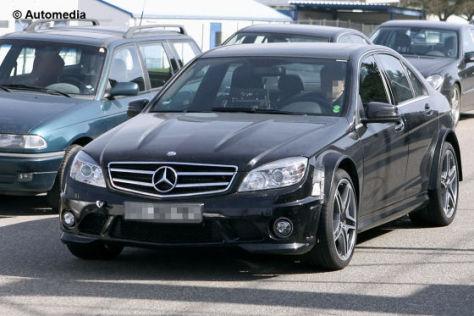 Erlkönig Mercedes C-Klasse AMG Black Series