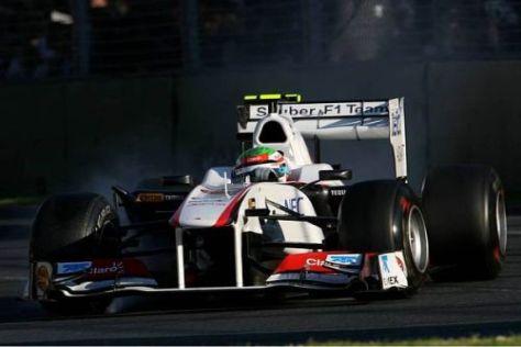 Sergio Perez peilt nach starker Melbourne-Leistung die ersten Punkte an
