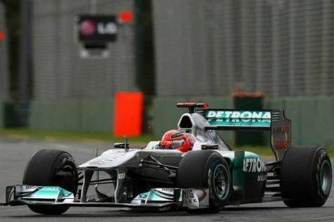 Michael Schumacher und Mercedes wollen sich besser präsentieren