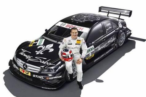 Gary Paffett ist glücklich: So sieht sein neuer DTM-Mercedes aus