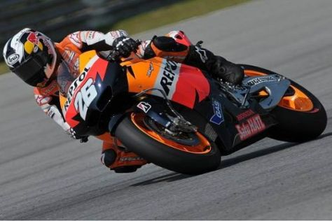 Dani Pedrosa war im zweiten Freien Training von Jerez am schnellsten