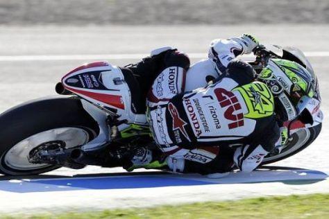 Toni Elias fährt der MotoGP-Konkurrenz auch in Jerez deutlich hinterher